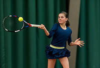 Wateringen, The Netherlands, March 9, 2018,  De Reijenhof , NOJK 12/16 years, Rose Marie Nijkamp (NED)<br /> Photo: www.tennisimages.com/Henk Koster