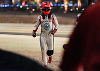28th March 2021; Sakhir, Bahrain; F1 Grand Prix of Bahrain, Race Day;  Nikita Mazepin RUS 9, Haas F1 Team ausgeschieden  walks back t the pits after his 1st lap crash