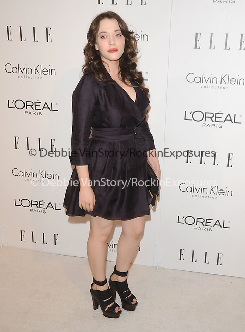 Kat Dennings at The 16th Annual Elle Women in Hollywood Tribute held at The four Seasons Hotel in Beverly Hills, California on October 19,2009                                                                   Copyright 2009 Debbie VanStory / RockinExposures