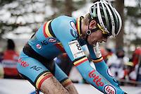 Yannick Peeters (BEL/Crelan-Vastgoedservice)<br /> <br /> U23 men's race<br /> <br /> UCI 2016 cyclocross World Championships / Zolder, Belgium