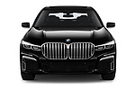 Car photography straight front view of a 2020 BMW 7-Series M-Sport 4 Door Sedan Front View