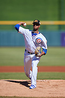 Mesa Solar Sox pitcher Duane Underwood Jr. (36), of the Chicago Cubs organization, during a game against the Scottsdale Scorpions on October 18, 2016 at Sloan Park in Mesa, Arizona.  Mesa defeated Scottsdale 6-3.  (Mike Janes/Four Seam Images)