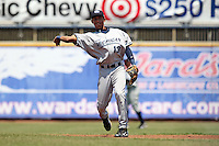 West Michigan Whitecaps shortstop Dixon Machado #13 during the first game of a double header against the Lake County Captains at Classic Park on May 30, 2011 in Eastlake, Ohio.  West Michigan defeated Lake County 5-0.  Photo By Mike Janes/Four Seam Images