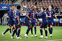 Joie - Antoine Griezmann (France) - Paul Pogba (France) celebrates after scoring a goal  <br /> Uefa European friendly football match between France and Wales at Allianz Riviera stadium in Nice (France), June 2nd, 2021. Photo Norbert Scanella / Panoramic / Insidefoto <br /> ITALY ONLY