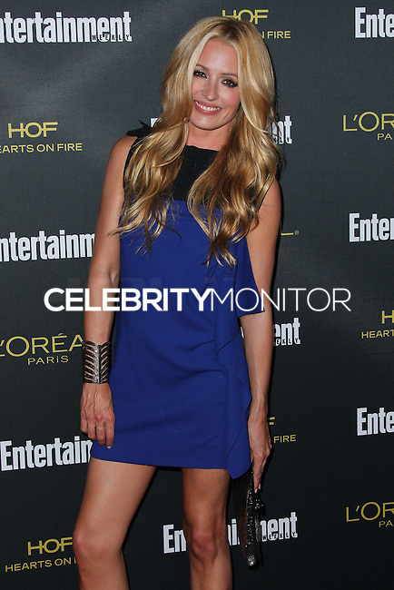 WEST HOLLYWOOD, CA, USA - AUGUST 23: Cat Deeley arrives at the 2014 Entertainment Weekly Pre-Emmy Party held at the Fig & Olive on August 23, 2014 in West Hollywood, California, United States. (Photo by Xavier Collin/Celebrity Monitor)