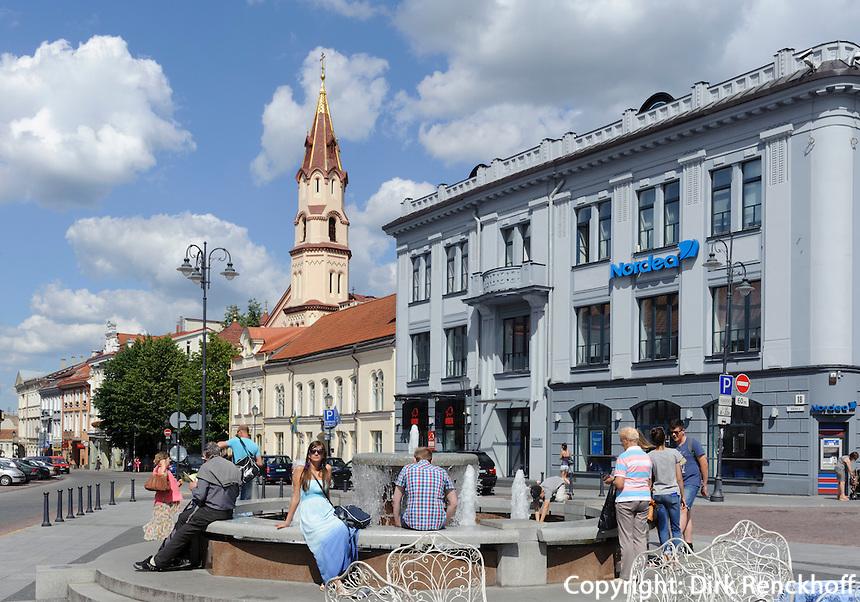 Orthodoxe Kirche Sv.Nikolas in Vilnius, Litauen, Europa, Unesco-Weltkulturerbe