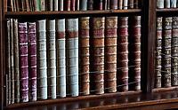 Nederland- Oud-Zuilen - 2020. Slot Zuylen is een van de oudste kastelen aan de Vecht.  De bibliotheek. Foto mag alleen gebruikt worden voor redactionele doeleinden. Foto mag niet in negatieve context gepubliceerd worden. . Foto Berlinda van Dam /  ANP / Hollandse Hoogte