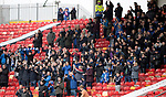 Aberdeen v St Johnstone…29.04.17     SPFL    Pittodrie<br />The travelling saints fans applaud the players at full time<br />Picture by Graeme Hart.<br />Copyright Perthshire Picture Agency<br />Tel: 01738 623350  Mobile: 07990 594431