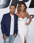 Bow Wow aka Shad Moss, Erica Mena attends The Universal Pictures World Premiere of Furious 7 held at The TCL Chinese Theatre IMAX Theater  in Hollywood, California on April 01,2015                                                                               © 2015 Hollywood Press Agency