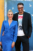 LOS ANGELES - AUG 2:  Bonnie Kathleen Ryan, Trevor Munson at the The Suicide Squad Premiere at the Village Theater on August 2, 2021 in Westwood, CA
