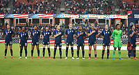 HOUSTON, TX - JUNE 13: USWNT starting eleven during a game between Jamaica and USWNT at BBVA Stadium on June 13, 2021 in Houston, Texas.