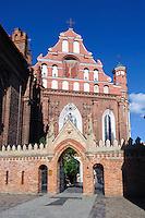 Bernhardinerkloster in Vilnius, Litauen, Europa, Unesco-Weltkulturerbe