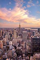 Full Moon over Manhattan New York NY