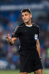 Referee Gil Manzano gestures during the La Liga 2017-18 match between Getafe CF and Athletic Club at Coliseum Alfonso Perez on 19 January 2018 in Madrid, Spain. Photo by Diego Gonzalez / Power Sport Images