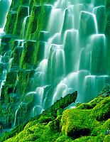 Close up of Proxy Falls. Oregon