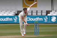 Sam Cook in bowling action for Essex during Essex CCC vs Durham CCC, LV Insurance County Championship Group 1 Cricket at The Cloudfm County Ground on 15th April 2021