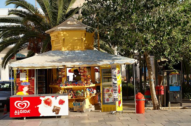 Kiosk in Ermoupolis, Miaoulis Square, Syros [ ????? ] , Greek Cyclades Islands