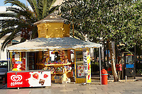 Kiosk in Ermoupolis, Miaoulis Square, Syros [ ????? ] , Greek Cyclades Islands