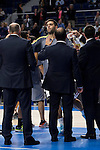 Real Madrid and Crvena Zvezda Telekom during Euroligue Basketball at Barclaycard Center in Madrid, October 22, 2015.<br /> Felipe Reyes.<br /> (ALTERPHOTOS/BorjaB.Hojas)