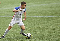 Portland, OR - Saturday August 12, 2017: Matthew Hundley during friendly match between the USMNT U17's and Chile u17's at Providence Park in Portland, OR.