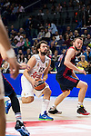 Real Madrid´s player Sergio Llull during the 4th match of the Turkish Airlines Euroleague at Barclaycard Center in Madrid, Spain, November 05, 2015. <br /> (ALTERPHOTOS/BorjaB.Hojas)