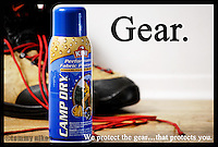 Waterproofing product for boots and fabrics, outdoor gear/recreation.