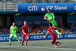 Cagliari Calcio (in green) vs HKFA Red Dragons (in red), during their Main Tournament match, part of the HKFC Citi Soccer Sevens 2017 on 27 May 2017 at the Hong Kong Football Club, Hong Kong, China. Photo by Marcio Rodrigo Machado / Power Sport Images