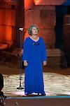 Tina Sainz during 2015 Theater Ceres Awards ceremony at Merida, Spain, August 27, 2015. <br /> (ALTERPHOTOS/BorjaB.Hojas)