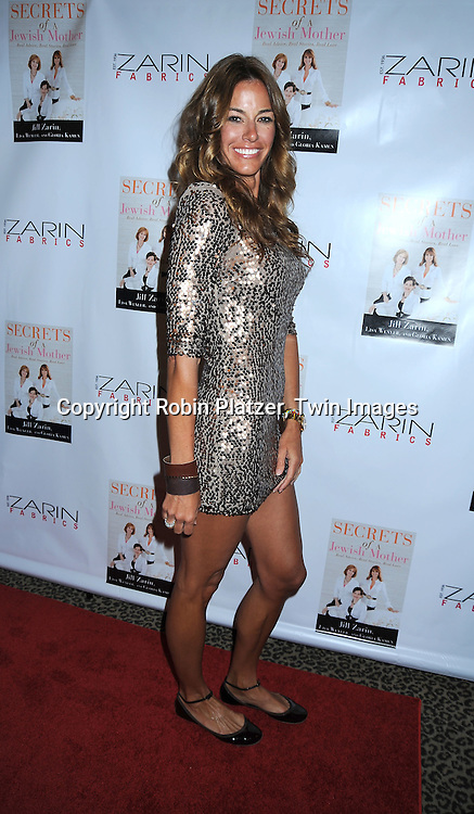 """Kelly Bensimon of """"The Real Housewives of New York"""" at Jill Zarin's  book party for """"Secrets Of a Jewish Mother;*Real Advice, Real Stories, Real Love*.on April 13, 2010 at Zarin Fabrics in New York City."""