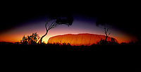 AFTERGLOW AT AYERS ROCK