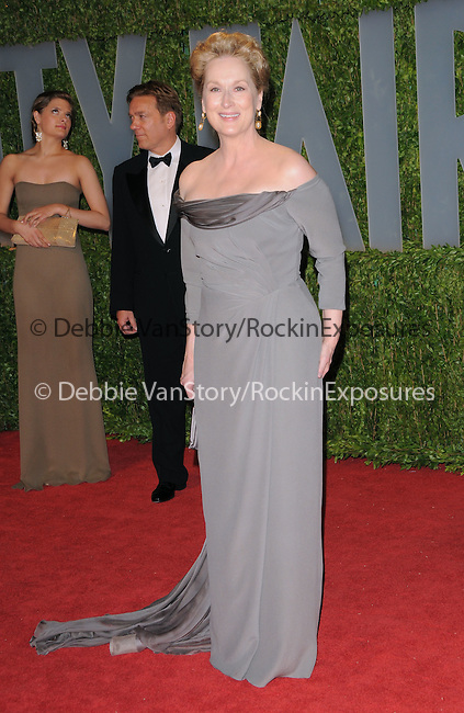 Meryl Streep at The 2009 Vanity Fair Oscar Party held at The Sunset Tower Hotel in West Hollywood, California on February 22,2009                                                                                      Copyright 2009 RockinExposures / NYDN
