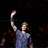 Rotterdam, The Netherlands, 9 Februari 2020, ABNAMRO World Tennis Tournament, Ahoy, Andrey Rublev (RUS).<br /> Photo: www.tennisimages.com