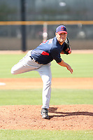 Frank Herrmann, Cleveland Indians 2010 minor league spring training..Photo by:  Bill Mitchell/Four Seam Images.
