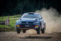 3rd July 2021, Liepaja, Latvia;  11 GRYAZIN Nikolay (LVA), ALEKSANDROV Konstantin (LVA), TEAM Nikolay GRYAZIN, VW Polo GTI during the 2021 FIA ERC Rally Liepaja, 2nd round of the 2021 FIA European Rally Championship