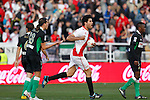Madrid (03/03/2012).-Campo de Futbol de Vallecas..Liga BBVA..Rayo Vallecano-Real Racing Club..Diego Costa...©Alex Cid-Fuentes.......