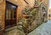 Civita Doorway and Stairs