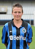 Club Brugge Vrouwen : Christine Saelens<br /> foto David Catry / nikonpro.be