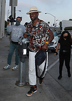 Taye Diggs Spotted At Catch In Hollywood