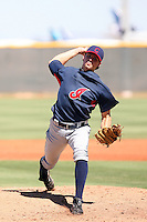 Trey Haley - Cleveland Indians - 2010 Instructional League.Photo by:  Bill Mitchell/Four Seam Images..
