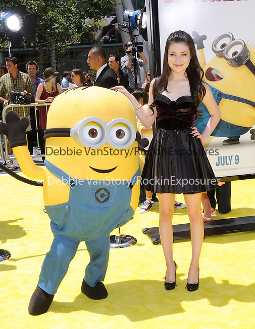 Miranda Cosgrove at theUniversal Pictures' World Premiere of Despicable Me held at the Los Angeles Film Festival at Nokia Live in Los Angeles, California on June 27,2010                                                                               © 2010 Debbie VanStory / Hollywood Press Agency