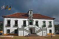 Casa da Camara Municipal da cidade de Mariana. Minas Gerais. 2009. Foto de Cris Berger.