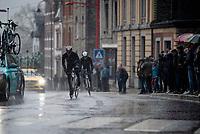 maneuvering back to the peloton<br /> <br /> 105th Liège-Bastogne-Liège 2019 (1.UWT)<br /> One day race from Liège to Liège (256km)<br /> <br /> ©kramon