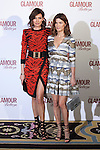 Nieves Alvarez (L) and Hanneli Mustaparta attend 2016 Glamour Belleza Awards en Madrid, Spain. February 04, 2016. (ALTERPHOTOS/Victor Blanco)