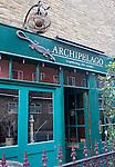 Exterior, Archipeligo Restaurant, London, city, England, UK, United Kingdom, Great Britain, Europe, European