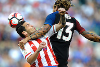 Philadelphia, PA - June 11, 2016: USA midfielder Jermaine Jones (13) during a Copa America Centenario Group A match between United States (USA) and Paraguay (PAR) at Lincoln Financial Field.