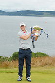 Alex NOREN (SWE) is the 2016 Aberdeen Asset Management Scottish Open Champion. The event was played at Castle Stuart Golf Golf Links from 7th to 10th July 2016: Picture Stuart Adams, www.golftourimages.com: 10/07/2016
