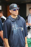 Trenton Thunder pitcher David Phelps (41) during game against the Harrisburg Senators at ARM & HAMMER Park on July 31, 2013 in Trenton, NJ.  Harrisburg defeated Trenton 5-3.  (Tomasso DeRosa/Four Seam Images)