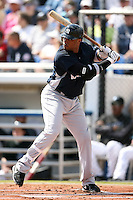 February 25, 2009:  Second baseman Robinson Cano (24) of the New York Yankees during a Spring Training game at Dunedin Stadium in Dunedin, FL.  The New York Yankees defeated the Toronto Blue Jays 6-1.   Photo by:  Mike Janes/Four Seam Images