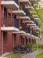 """seniorengerechte Wohnalage """"Wippsteert"""" Breitenfelder Straße 33 in Hamburg-Hoheluft-Ost, Deutschland, Europa<br /> retirement housing complex """"Wippsteert""""Breitenfelder St. 33 in Hamburg-Hoheluft-Ost, Germany, Europe"""