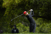 STANFORD, CA - APRIL 25: YuSang Hou at Stanford Golf Course on April 25, 2021 in Stanford, California.